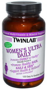 Twinlab Womens Ultra Multi Daily (120 кап)