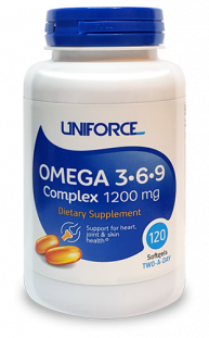 UNIFORCE Omega 3-6-9 1200 mg (90 кап)